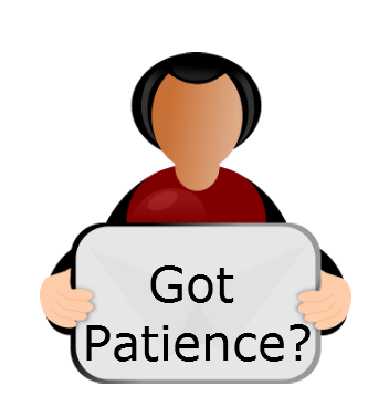 patience is a virtue, Patience is a godly quality