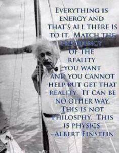 Einstein FREQUENCY Science & religion